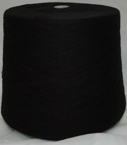 High Bulk Yarn 2/28s - Black - 1500g
